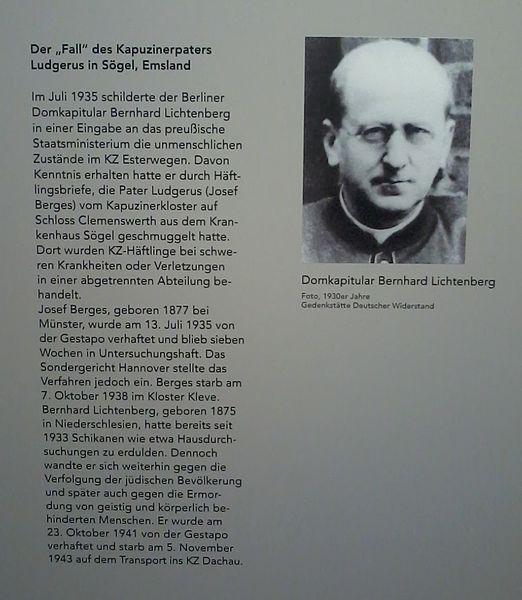 Lichtenberg, Bernhard