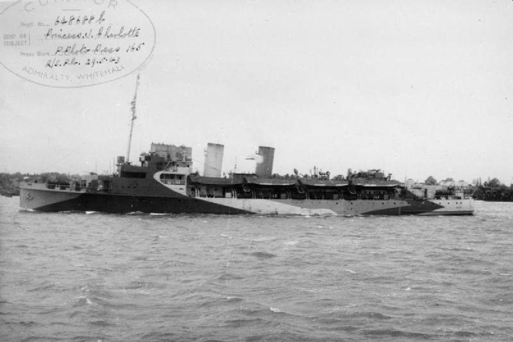 Britse Landing Ship Infantry HMS Prinses Joséphine Charlotte