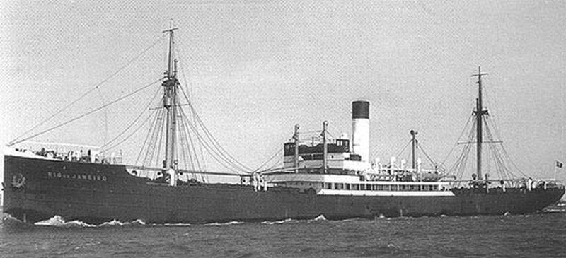 Ondergang van de Rio de Janeiro, 8 april 1940