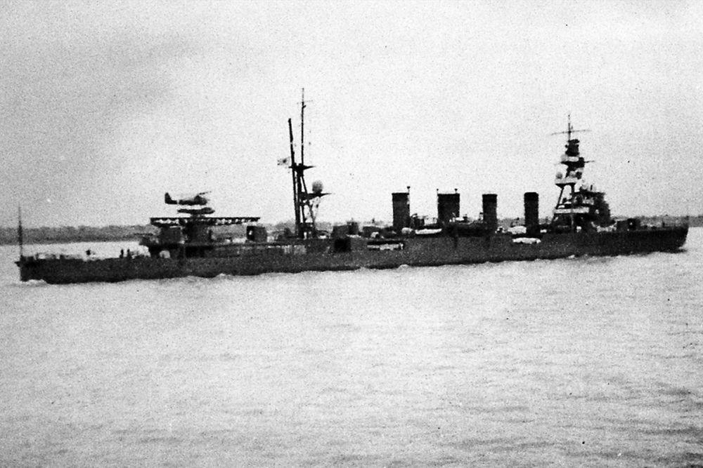 Japanse Lichte-kruisers van de Sendai-klasse