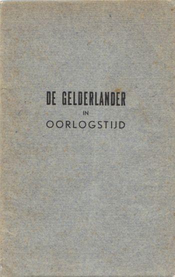 Dagblad de Gelderlander in oorlogstijd