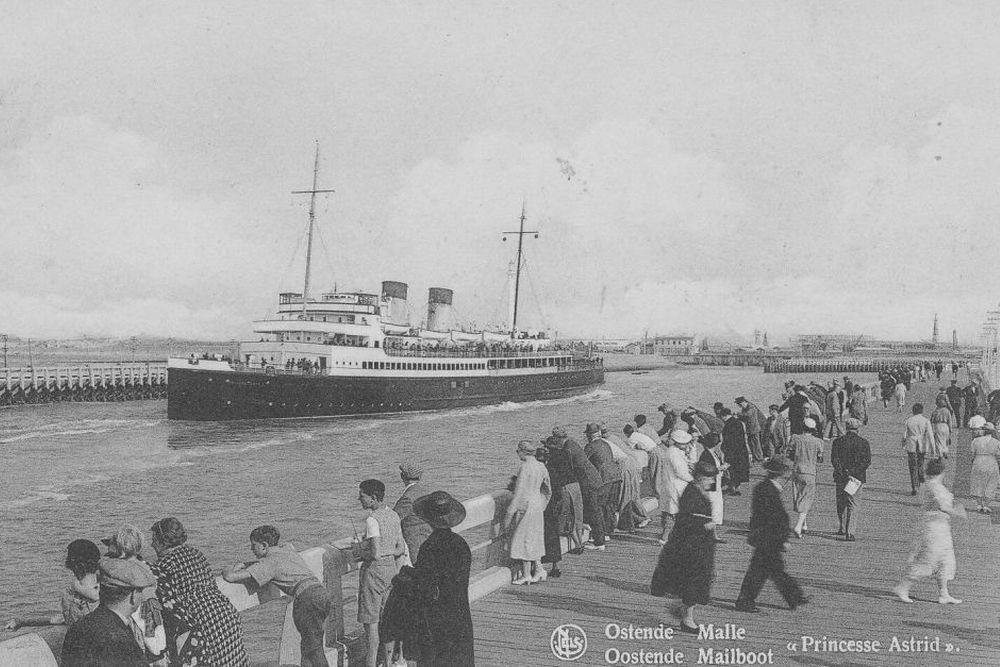 Britse Landing Ship Infantry HMS Prinses Astrid