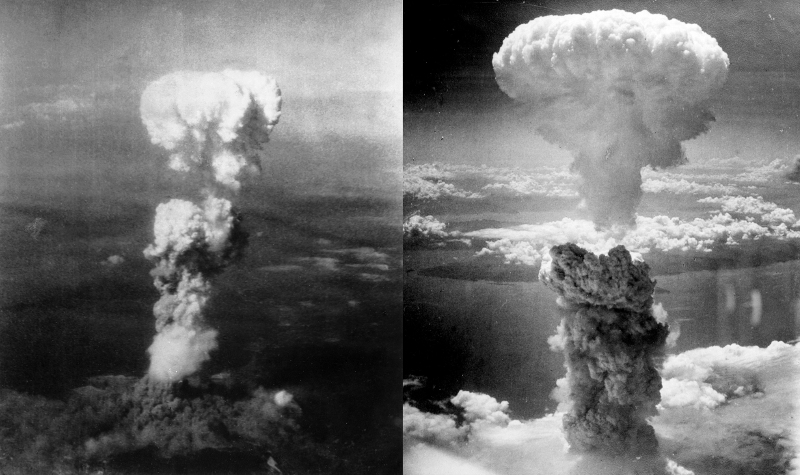 Atomic bombs on Japan