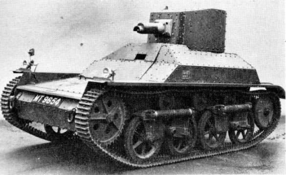 Vickers, light tank