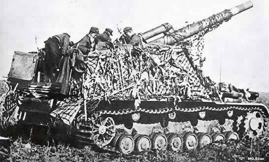 Panzerlafette Hummel