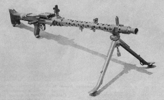 MG 34, Lichte machinegeweer