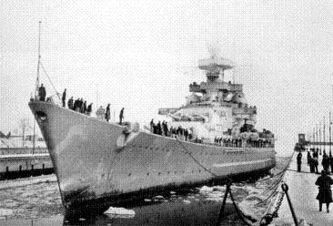 Slagschepen van de Scharnhorst-klasse