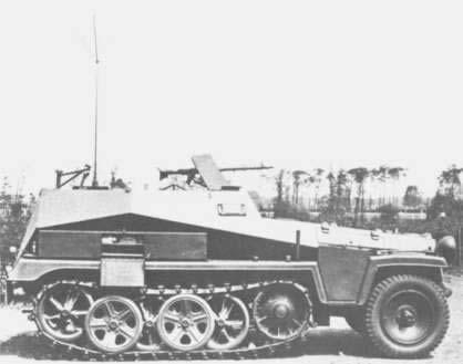 Sd Kfz 250 Leichte Gepanzerte Kraftwagen